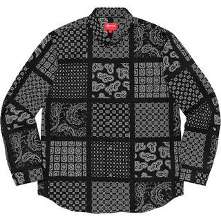 Supreme - Supreme Paisley Grid Shirt