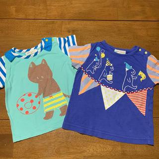 ナルミヤ インターナショナル(NARUMIYA INTERNATIONAL)のバラ売り可!baby cheer Tシャツ 80サイズ(Tシャツ)