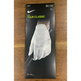 ナイキ(NIKE)の【新品未使用】 ナイキ TOUR CLASSIC  羊革 ゴルフ手袋  メンズL(その他)