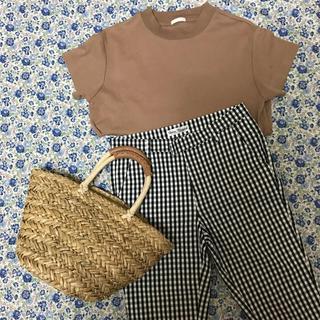 ジーユー(GU)のジーユー スムースT     Sサイズ(Tシャツ(半袖/袖なし))