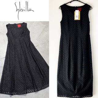 新品 Sybilla ワンピース パーティー セレモニー ドレス ブラック