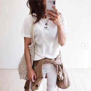 アズールバイマウジー(AZUL by moussy)の新品 AZUL by moussy ミッキーTシャツ(Tシャツ(半袖/袖なし))