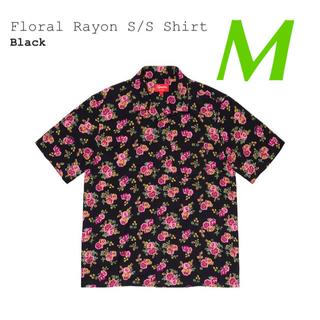 Supreme - Supreme 20SS Floral Rayon S/S Shirt  M
