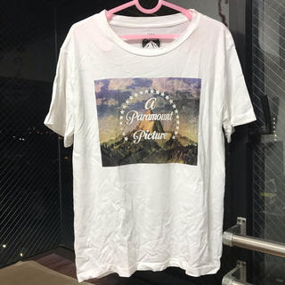 ジーユー(GU)のGU フォトプリント Tシャツ ホワイト(Tシャツ(半袖/袖なし))