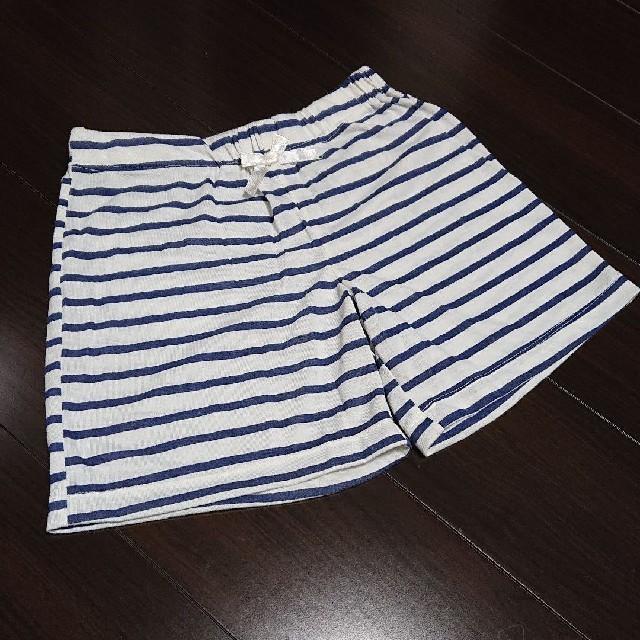 GU(ジーユー)のGU キッズ ルームショートパンツ キッズ/ベビー/マタニティのキッズ服女の子用(90cm~)(パンツ/スパッツ)の商品写真
