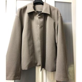 STUDIOUS - STUDIOUS チェック ドリズラージャケット yoke stein sサイズ