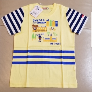 mikihouse - ミキハウス  旅するプッチー半袖Tシャツ120