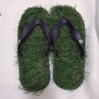 Kusa Flip Flops 草サンダル/芝生ビーチサンダルM 25~27.5(ビーチサンダル)