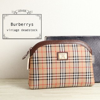 BURBERRY - 未使用 美品 Burberrys バーバリー デッドストック クラッチ バッグ