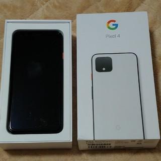 Softbank - Google pixel 4 チェリーホワイト Softbank