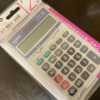 CASIO - CASIO 特大表示 税計算電卓 12桁  新品