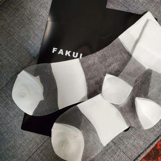 エンフォルド(ENFOLD)のUN3D. アンスリード  購入 fakui  ファクイ シースルーソックス(ソックス)