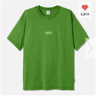 ジーユー(GU)のGU ビッグT(半袖)STUDIO SEVEN +X 緑 2XL(Tシャツ/カットソー(半袖/袖なし))