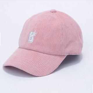 横浜DeNAベイスターズ - ベイスターズ ワイドコーデュロイキャップ ピンク