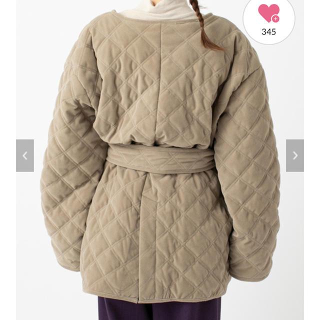 mystic(ミスティック)のmystic キルティングジャケットコート レディースのジャケット/アウター(ブルゾン)の商品写真