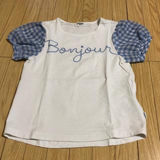 pom ponette - pom  ponette   パフスリーブTシャツ②   120