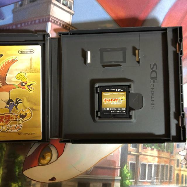 ニンテンドーDS(ニンテンドーDS)のポケモン ハートゴールド 3ds エンタメ/ホビーのゲームソフト/ゲーム機本体(携帯用ゲームソフト)の商品写真