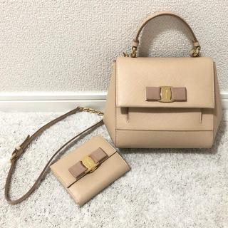 Salvatore Ferragamo - フェラガモ ショルダーバッグ と ミニ財布 2wayハンドバッグ