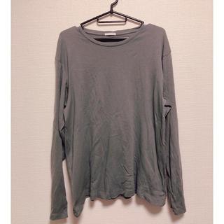 ジーユー(GU)のGU カットソー トップス ロングTシャツ(Tシャツ/カットソー(七分/長袖))