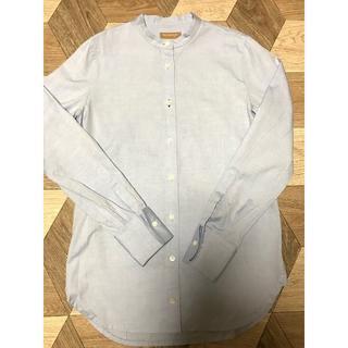 エフデ(ef-de)のef-de(エフデ)/サイズ7/ブルーのシャツ(シャツ/ブラウス(長袖/七分))