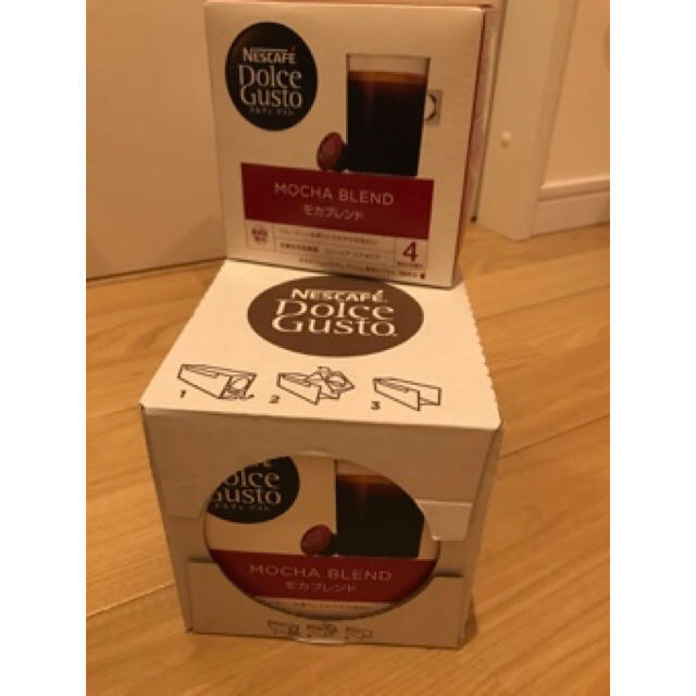 Nestle(ネスレ)のネスレ ドルチェグスト モカブレンド 食品/飲料/酒の飲料(コーヒー)の商品写真
