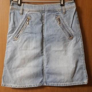 シンプリシテェ(Simplicite)のデニムスカート  simplicite(ひざ丈スカート)