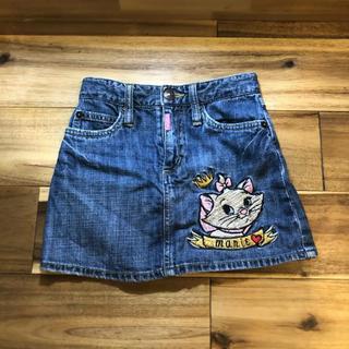 ディズニー(Disney)のデニムスカート 120(スカート)
