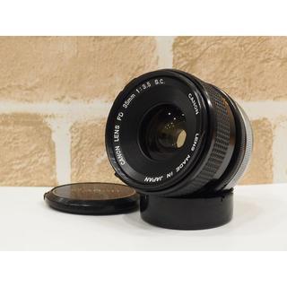 キヤノン(Canon)のCanon LENS FD 35mm F3.5 S.C. オールドレンズ(レンズ(単焦点))