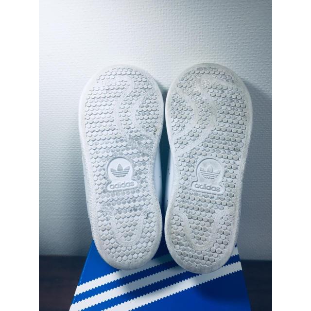 adidas(アディダス)のSTAN SMITH スタンスミス 16cm キッズ/ベビー/マタニティのキッズ靴/シューズ(15cm~)(スニーカー)の商品写真