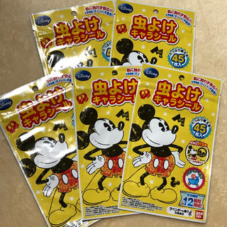 ディズニー(Disney)のディズニー 虫よけキャラシール 5袋セット(その他)