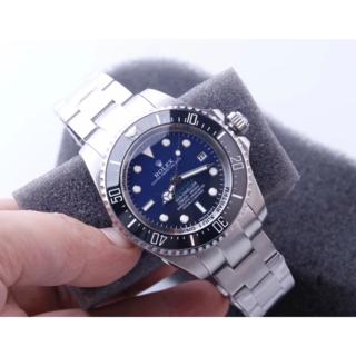 オメガ(OMEGA)の腕時計 自動巻 グラデーションブルー(腕時計(アナログ))