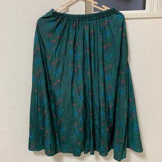 ikka - 花柄 スカート