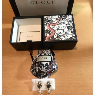 Gucci - GUCCI ピアス