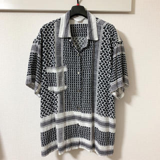 UNUSED - UNUSED 19SS アフガンシャツ サイズ0