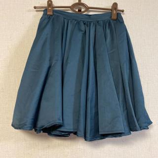 ジーナシス(JEANASIS)のJEANASIS☆光沢ふんわりスカート(ひざ丈スカート)