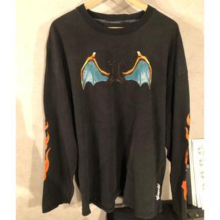 グラム(glamb)のポケモン リザードン ロングT (Tシャツ/カットソー(七分/長袖))