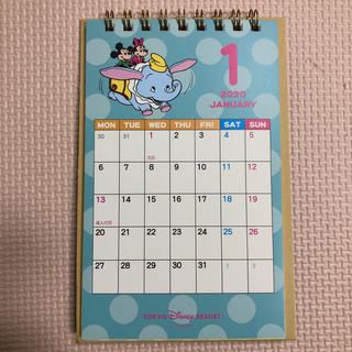 Disney - ディズニー 卓上 カレンダー 2020 レトロ ミッキー ミニー