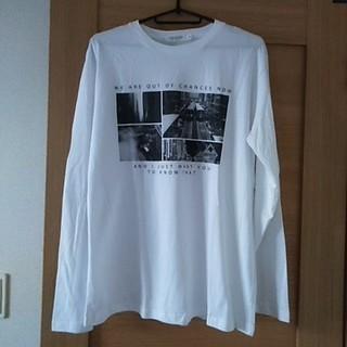 シマムラ(しまむら)のフォトプリントTシャツ(Tシャツ/カットソー(七分/長袖))