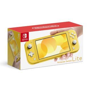 ニンテンドースイッチ(Nintendo Switch)の新品 スイッチ ライト イエロー Switch Lite 本体(携帯用ゲーム機本体)