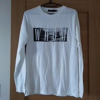 シマムラ(しまむら)のプリントTシャツ ロンTシャツ(Tシャツ/カットソー(七分/長袖))