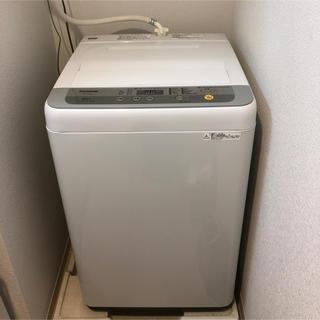 Panasonic - Panasonic【全自動洗濯機 5㎏】2018年製。