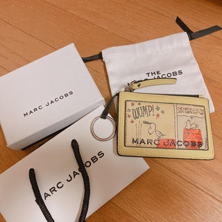 MARC JACOBS - 限定 MARC JACOBS スヌーピーコラボ パスケース&コイン入れ