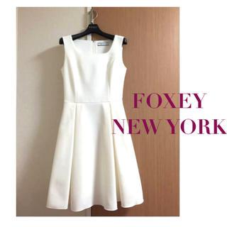 FOXEY - foxy 大人気のRosetta✨お嬢様フレアワンピースドレス 定価6.8万円