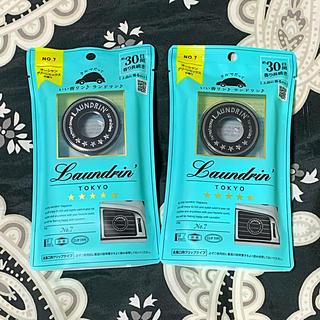 ランドリン (車用芳香剤)オーシャングリーンミックス×2コ