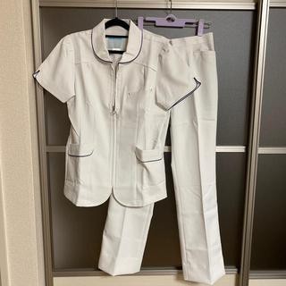 カゼン(KAZEN)のナースウェア 白衣 上下セット 新品❣️(その他)