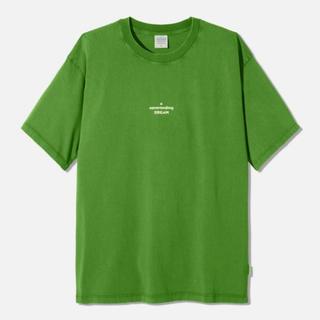 ジーユー(GU)のGU STUDIO SEVEN ビッグT グリーン XXL Tシャツ 片岡直人(Tシャツ/カットソー(半袖/袖なし))