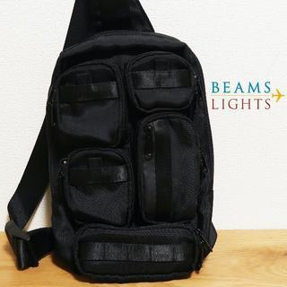 BEAMS - BEAMS LIGHTS ビームスライツ マルチポケット ワンショルダーバッグ