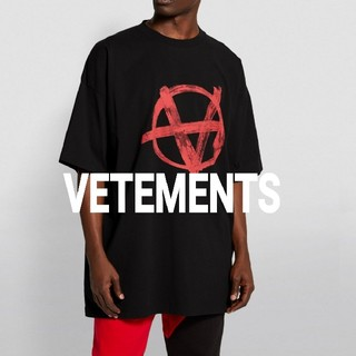VETEMENTS☆Oversized Anarchy Tシャツヴェトモン登坂