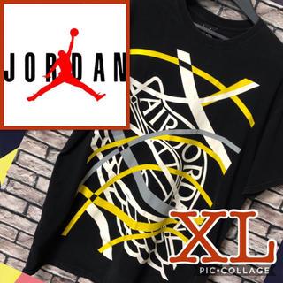 ナイキ(NIKE)のナイキ NIKE ジョーダン ジャンプマンロゴ air Jordan 半袖 黒色(Tシャツ/カットソー(半袖/袖なし))