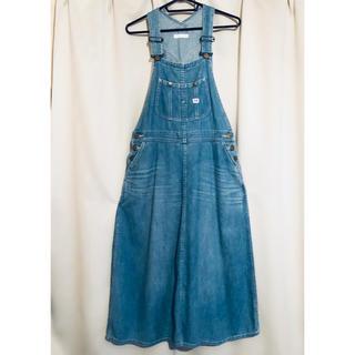 STUDIO CLIP - Lee デニム サロペットスカート オーバーオールスカート
